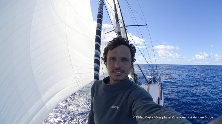 Didac Costa con velas Advanced Sails