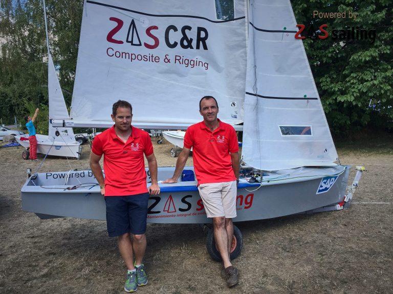 Zas Sailing y las velas Advanced Sails
